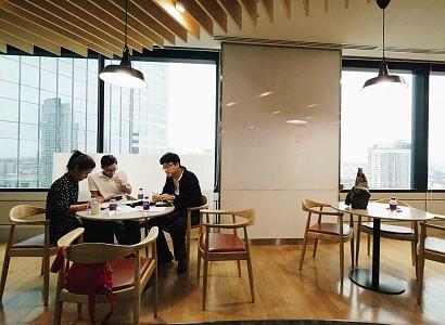 Oficinas en las que se trabaja la creatividad