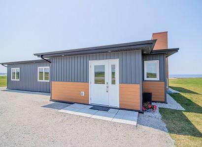 Casas prefabricadas en plena naturaleza