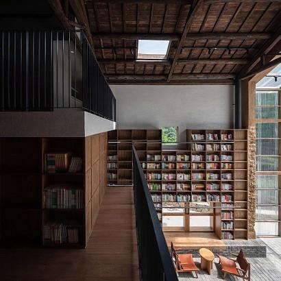 Un hotel para aislarse en medio de la naturaleza y rendirse a la lectura