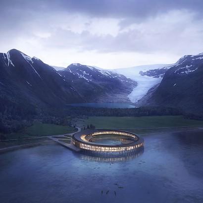 Bienvenidos al primer hotel de energía positiva del Ártico