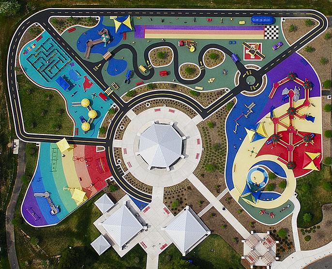Xavier pastor interiorismo parques infantiles con - Que es un porche en arquitectura ...